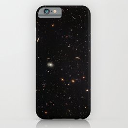 Hubble Space Telescope - A galactic gathering iPhone Case
