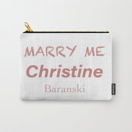 Queen Christine Baranski Carry-All Pouch