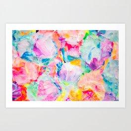 flower crusher Art Print