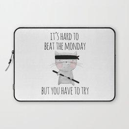 beat the monday /Agat/ Laptop Sleeve