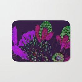 Australian Wildflowers recoloured Bath Mat