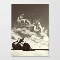 Lets Play Canvas Print