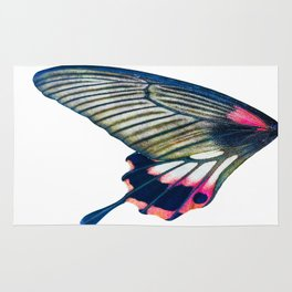 Butterfly left wing - find the right wing in my store :) Rug