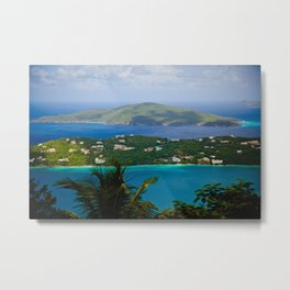 Virgin Islands Metal Print