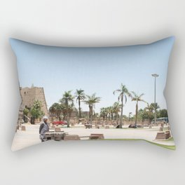 Temple of Luxor, no. 23 Rectangular Pillow