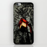 lantern iPhone & iPod Skins featuring Lantern by A Dostert