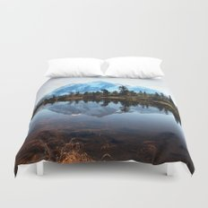 Mt Shuksan Duvet Cover