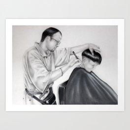 El Barbero Art Print