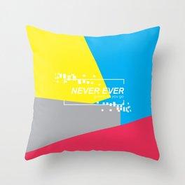 GOT7 NEVER EVER Throw Pillow