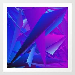 Rhapsody in Blue 6 Art Print