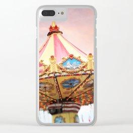 dusk at the fair Clear iPhone Case