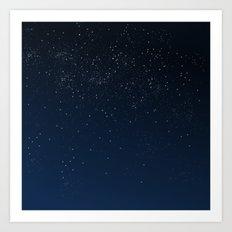 Stars in Space Art Print