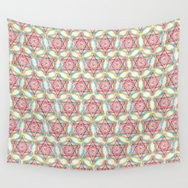 Metatron's Cube Sacred Geometry Wall Tapestry