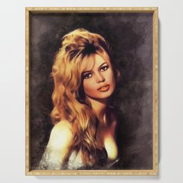 Brigitte Barot, Actress Serving Tray