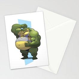 Beach Bod Croc Stationery Cards