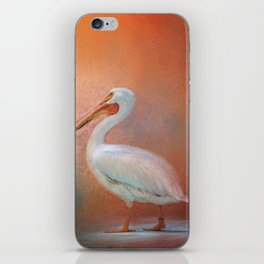Pelican Walk iPhone Skin