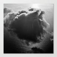 Single drifting cloud Canvas Print