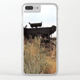 Wagon in Wyoming Clear iPhone Case