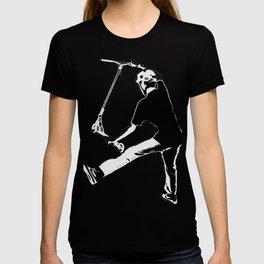 Deck Grabbing - Stunt Scooter Trick T-shirt