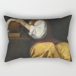 Giacomo Galli - Saint Mary Magdalene Rectangular Pillow