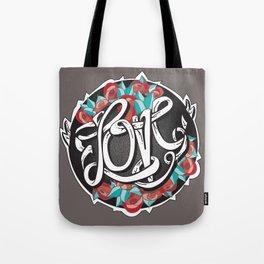 Love -Ribbon-Word Tote Bag