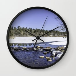 Pure Mississippi Wall Clock