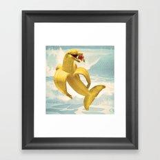Fruit Fish Framed Art Print