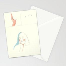 am i sad because i watch tv or do i watch tv because i'm sad? Stationery Cards