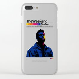 TheWeeknd Clear iPhone Case