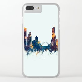 Chicago Illinois Skyline Clear iPhone Case