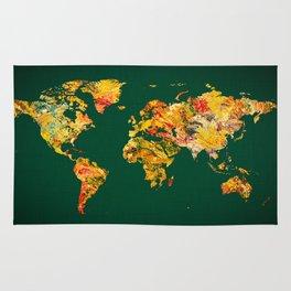 World Map 38 Rug