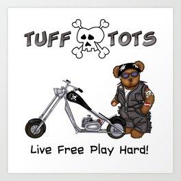 Tuff Tots Huggy Bear Art Print