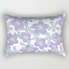 Maya Periwinkle Rectangular Pillow