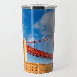Golden Gate Bridge and Fort Point Travel Mug