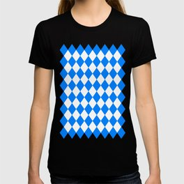 Diamonds (Azure/White) T-shirt