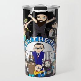 Southern Premier Wrestling Happy Birthday Travel Mug