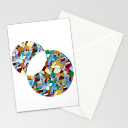 Mozart abstraction Stationery Cards