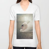 serenity V-neck T-shirts featuring Serenity by Pauline Fowler ( Polly470 )