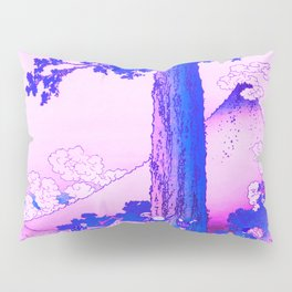 mishima pass in kai province remix in purple Pillow Sham