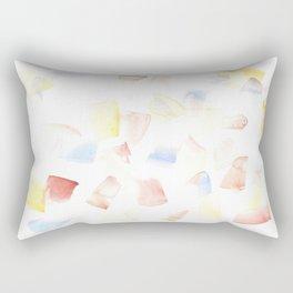 180515 Watercolour Abstract wp 14  Watercolor Brush Strokes Rectangular Pillow