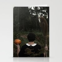 hocus pocus Stationery Cards featuring Hocus Pocus by VanessaValkyria