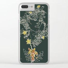 Friend, you are beautiful Clear iPhone Case