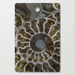 Patterns of ammonite Cutting Board