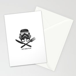 Eat Geek Play Logo Stationery Cards
