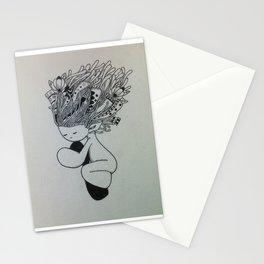 Sleeping Girl Stationery Cards