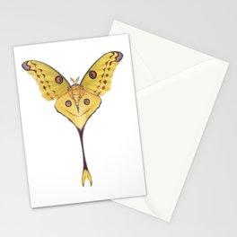 Comet moth (Argema mittrei) Stationery Cards