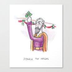 Dooku the Halls Canvas Print