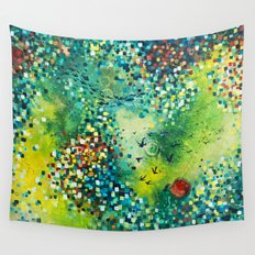 Dimensions of Flow Wall Tapestry