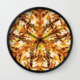 Twisted Firestarter Wall Clock