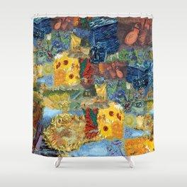 Vinny's World Shower Curtain